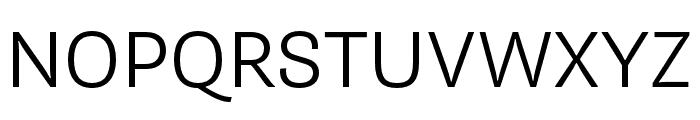 Supria Sans Light Italic Font UPPERCASE