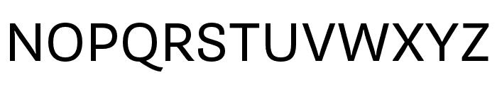 Supria Sans Regular Font UPPERCASE