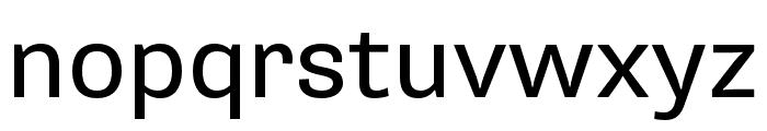 Supria Sans Regular Font LOWERCASE