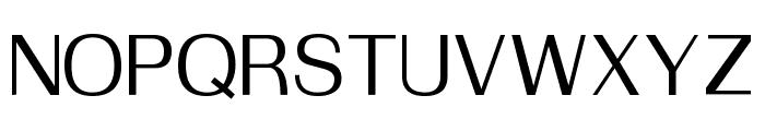 Suruma Medium Font UPPERCASE