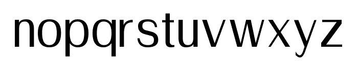 Suruma Medium Font LOWERCASE