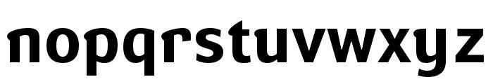 Susan Sans Bold Font LOWERCASE