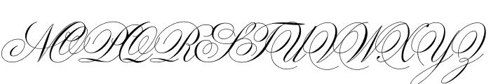 Sweet Fancy Script Light Font UPPERCASE