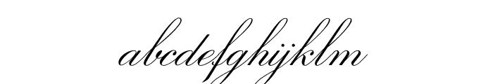 Sweet Fancy Script Light Font LOWERCASE