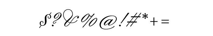 Sweet Fancy Script Regular Font OTHER CHARS