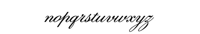 Sweet Fancy Script Regular Font LOWERCASE