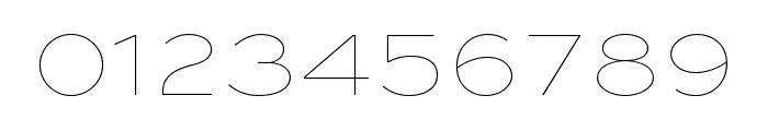 Sweet Sans Pro Extra Light Italic Font OTHER CHARS