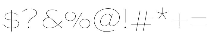 Sweet Sans Pro Regular Font OTHER CHARS