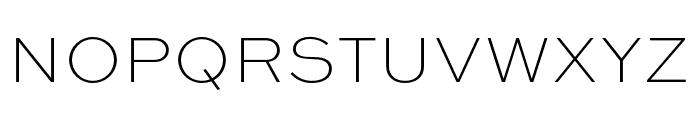 Sweet Sans Pro Thin Font UPPERCASE
