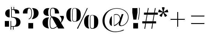 Sweet Titling No. 26 Regular Font OTHER CHARS