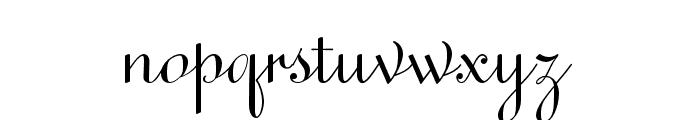 Sweet Upright Script Regular Font LOWERCASE