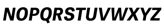 Tablet Gothic Compressed Bold Oblique Font UPPERCASE