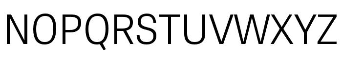 Tablet Gothic Condensed Light Font UPPERCASE