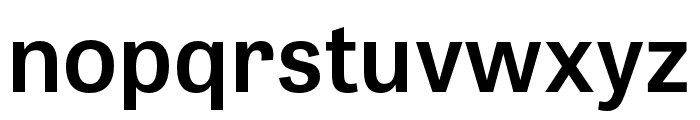 Tablet Gothic Condensed SemiBold Font LOWERCASE