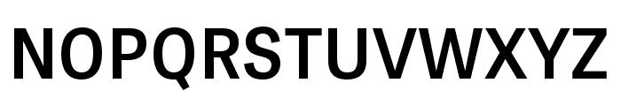 Tablet Gothic Narrow SemiBold Font UPPERCASE