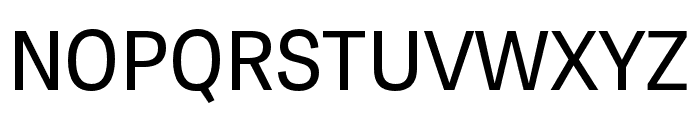 Tablet Gothic SemiCondensed Regular Font UPPERCASE