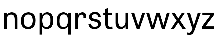 Tablet Gothic SemiCondensed Regular Font LOWERCASE