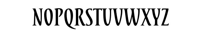 Tacitus Pro Bold Font LOWERCASE