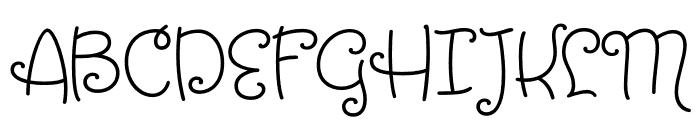 Tangelo Bold Font UPPERCASE