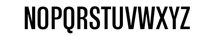 Tannakone Medium Condensed Font UPPERCASE