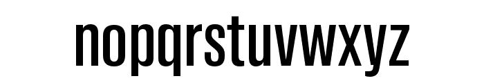 Tannakone Medium Condensed Font LOWERCASE