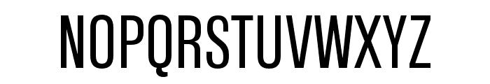 Tannakone Regular Condensed Font UPPERCASE