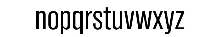 Tannakone Regular Condensed Font LOWERCASE