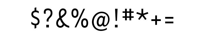 Tarzana Nar OT Regular Font OTHER CHARS