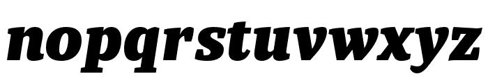 Tasman Black Italic Font LOWERCASE