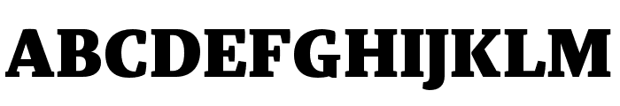 Tasman Black Font UPPERCASE