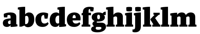 Tasman Black Font LOWERCASE