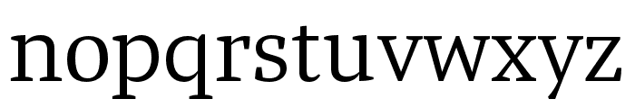 Tasman Light Font LOWERCASE