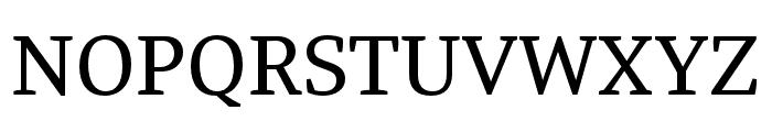 Tasman Regular Font UPPERCASE