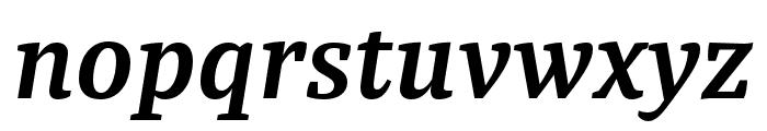 Tasman SemiBold Italic Font LOWERCASE