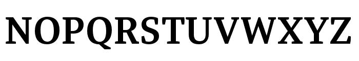 Tasman SemiBold Font UPPERCASE