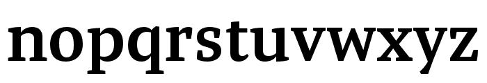 Tasman SemiBold Font LOWERCASE