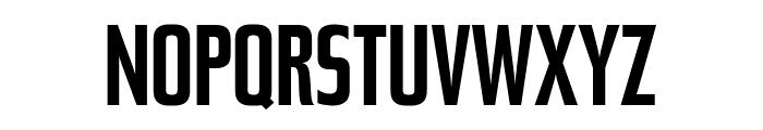 Tasse MediumExtended Font UPPERCASE