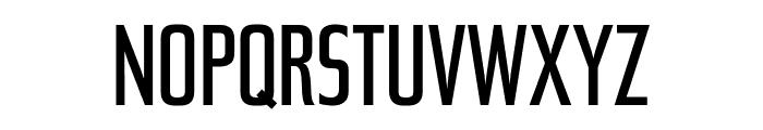 Tasse RegularCondensed Font UPPERCASE