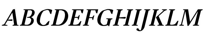 Tejuela Bold Italic Font UPPERCASE