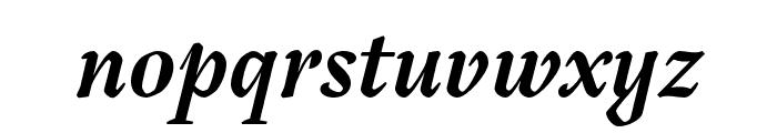 Tejuela Bold Italic Font LOWERCASE