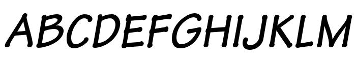 Tekton Pro Bold Condensed Oblique Font UPPERCASE