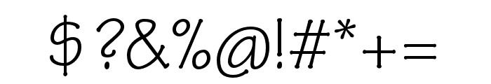 Tekton Pro Condensed Font OTHER CHARS