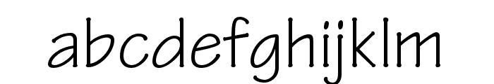 Tekton Pro Condensed Font LOWERCASE