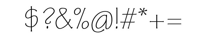 Tekton Pro Light Condensed Font OTHER CHARS