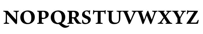 Ten Oldstyle Bold Font UPPERCASE