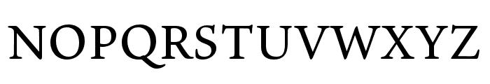 Ten Oldstyle Medium Font UPPERCASE