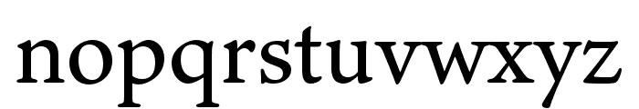 Ten Oldstyle Medium Font LOWERCASE