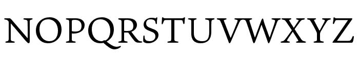 Ten Oldstyle Regular Font UPPERCASE
