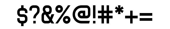 Tenby Seven Regular Font OTHER CHARS