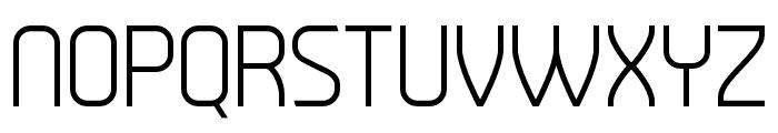 Tenby Stencil Light Font UPPERCASE